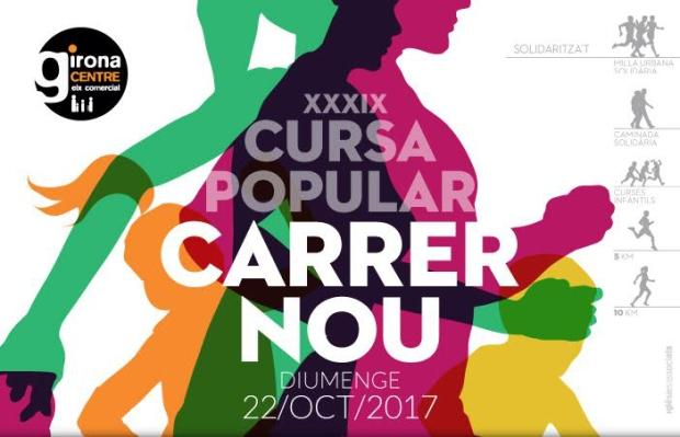 cartell cursa carrer nou 2017